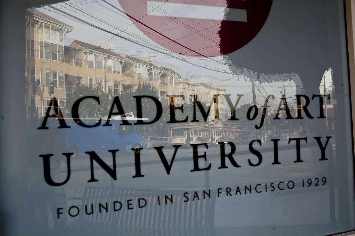 One of the Academy of Art University's buildings at 2295 Taylor Street in San Francisco, Calif., Thursday, November 15, 2012.