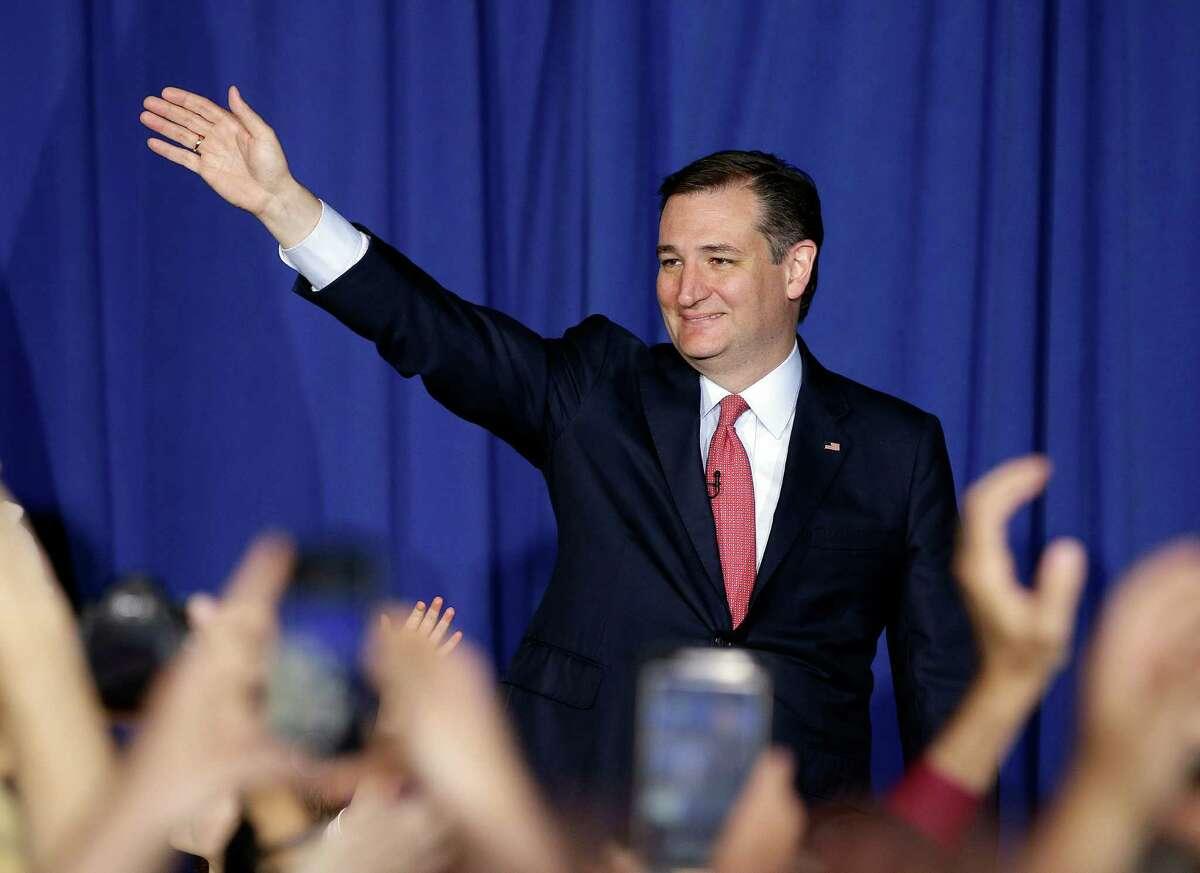 U.S. Sen. Ted Cruz In March 2016, former presidential candidate Ted Cruz called Donald Trump a