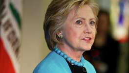 Whether Democratic presidential hopeful Hillary Clinton would be questioned was unclear.