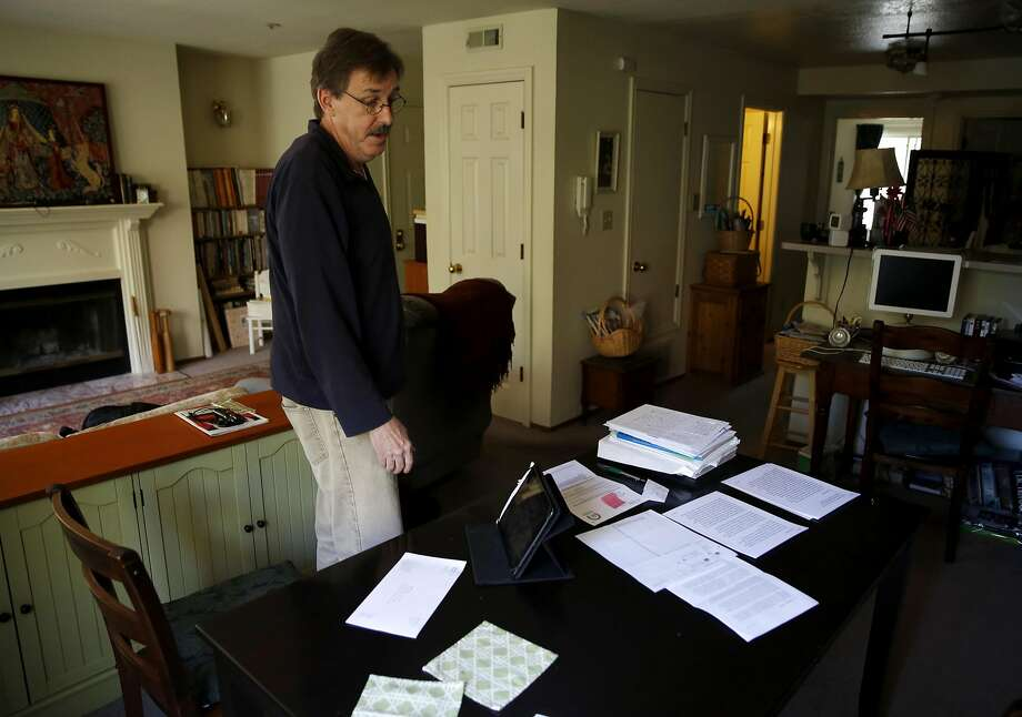 Robert Bell has been trying to straighten out problems that arose when Covered California erroneously sent him and his wife to Medi-Cal after he tried to renew an Anthem policy. Photo: Connor Radnovich, The Chronicle