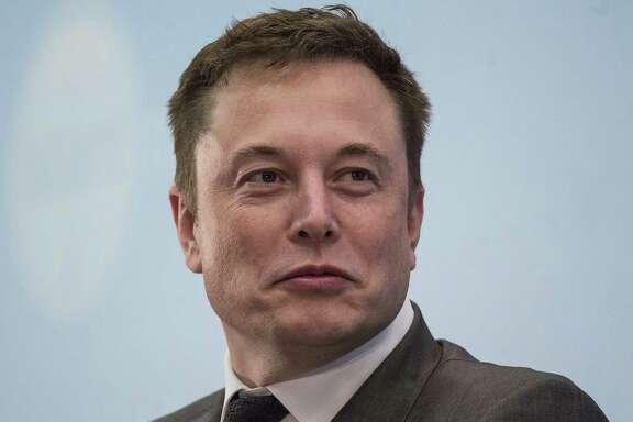 Tesla Motors CEO Elon Musk in Hong Kong on Jan. 26. (MUST CREDIT: Bloomberg photo by Justin Chin)