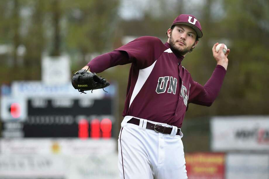 Union College pitcher Jake Fishman on Thursday, May 5, 2016, at Shuttleworth Park in Amsterdam, N.Y. Fishman could be the first player in Union history to be taken in the MLB Draft. (Cindy Schultz / Times Union) Photo: Cindy Schultz / Albany Times Union