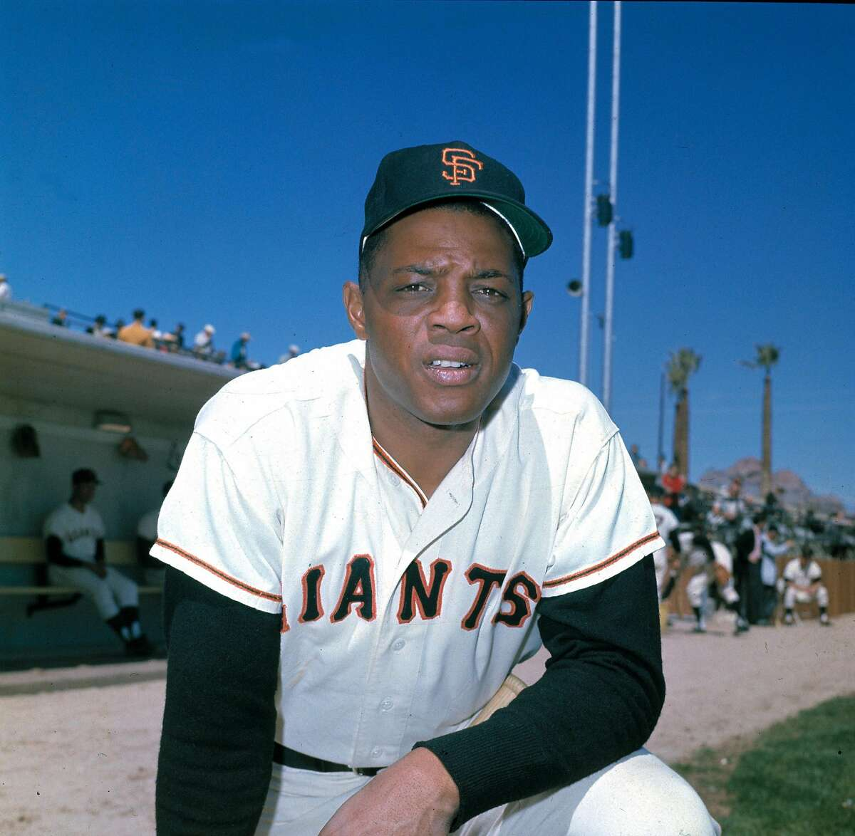 Willie Mays, outfielder for the San Francisco Giants, is shown in March 1962. (AP Photo)