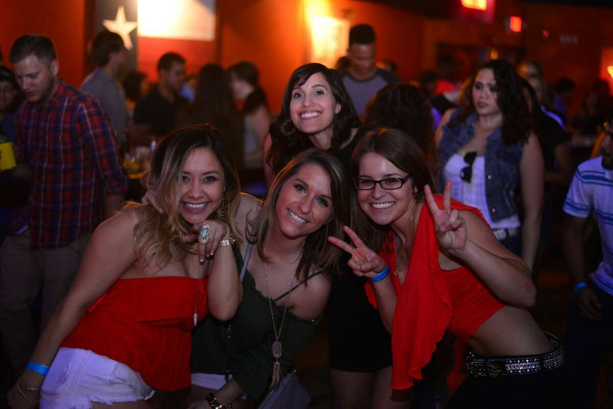 An energetic crowd packed the dance floor at the North Side country dance club Wild West San Antonio on May 5, 2016.
