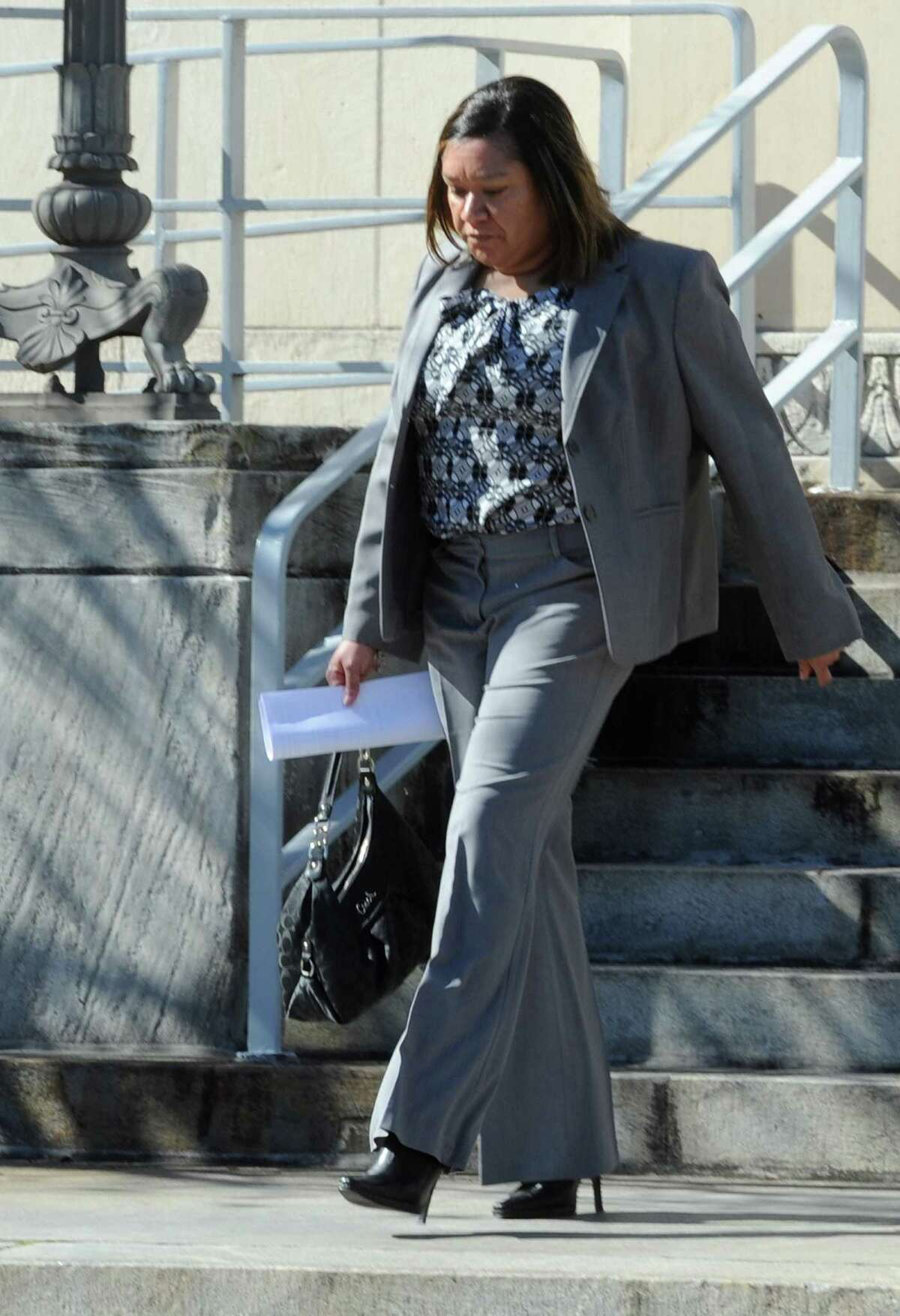 Sharika Allison, Beaumont ISD's former comptroller, has been ordered to pay back $4 million to the district after embezzling millions along with former chief financial officer Devin McCraney. Photo taken Thursday, January 16, 2014 Brooke Crum/@broocrum