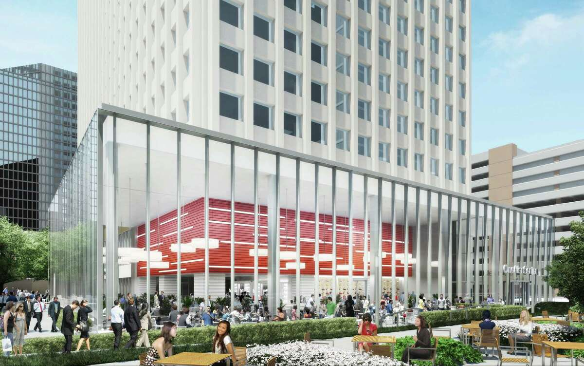 The owners of Allen Center are spending $48.5 million on a renovation of the outdoor and common spaces in the downtown development.