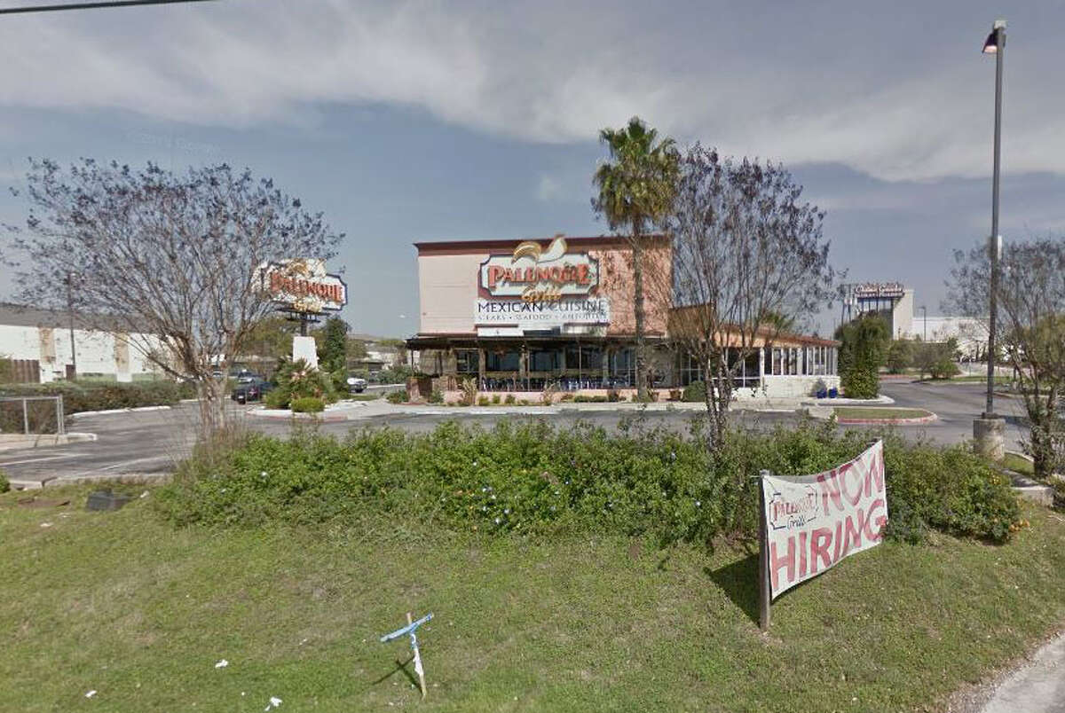 Palenque Grill: 389 N. FM 1604 W., San Antonio, Texas 78258Date: 04/29/2016 No. of violations: 17Highlights: Inspector found a dead insect inside a bag of flour, dead insects seen throughout establishment, no paper towels at hand washing sink, food not protected from cross contamination (raw steak stored above containers of salsa), shrimp cocktail, chickpeas, lettuce, sliced peppers and diced tomatoes not held at correct temperature
