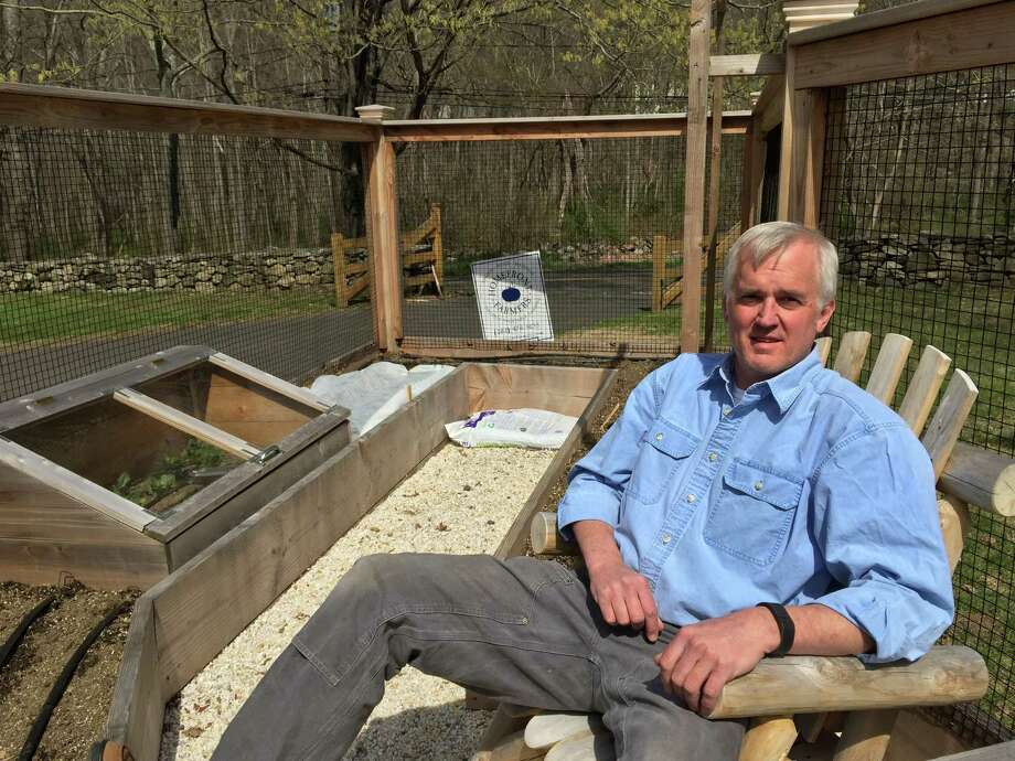 John Carlson, of Ridgefield, owner of Homefront Farmers. Photo: Contributed Photo