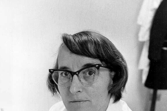 Dr. Elisabeth Kubler-Ross, a psychiatrist of the University of Chicago, is shown on March 19, 1970. Kubler-Ross, an internationally known author and expert on death and dying who became a pioneer for hospice care, died Tuesday night, Aug. 24, 2004. She was 78. (AP Photo/File)