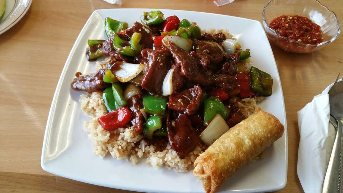 Pepper steak from Golden Hunan #2, 2953 Bingle Rd. in Houston. Photo by: Yelp/Christopher N.