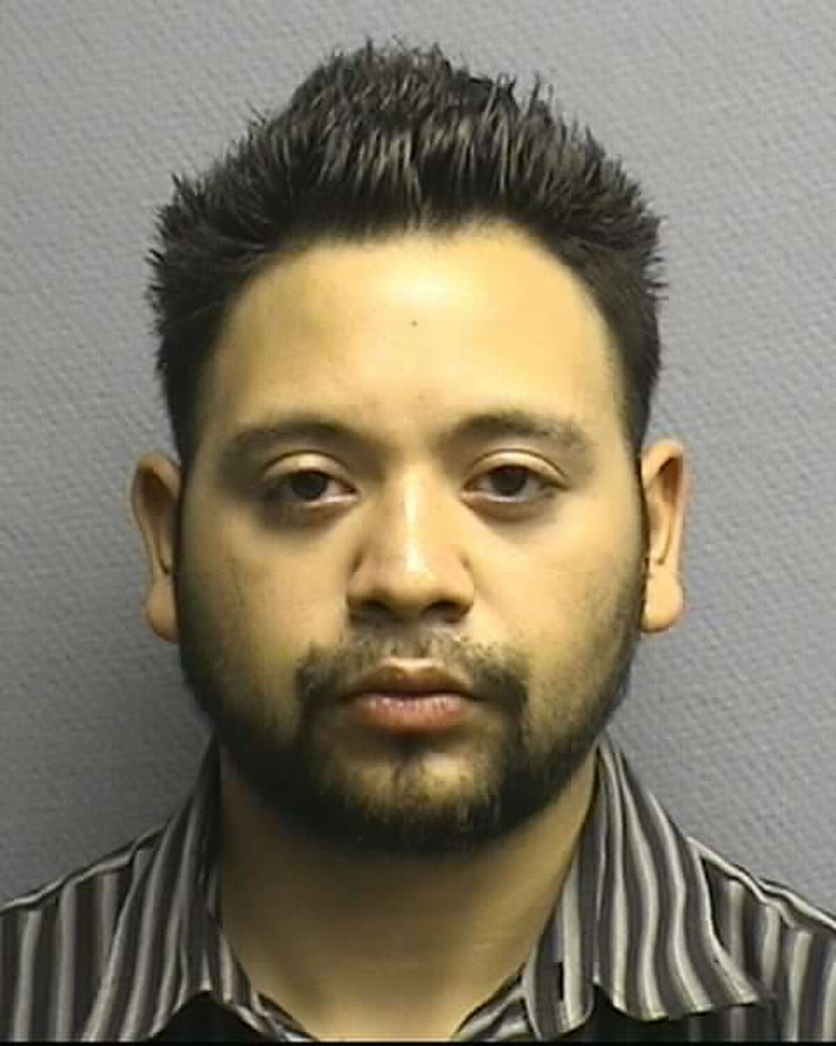 Houston police have arrested four people, including Ruben Barhona Rendon (pictured), accused of a long-running scam