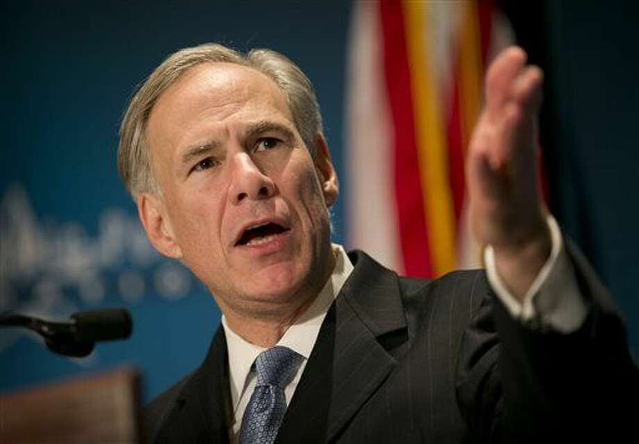 Gov. Greg Abbott calls for a convention of states to amend the Constitution during a speech at the Texas Public Policy Foundation in Austin, Texas, on Friday Jan. 8, 2016. Abbott called on Texas Friday to take the lead in pushing for constitutional amendments that would give states power to ignore federal laws and override decisions by the U.S. Supreme Court. (Jay Janner /Austin American-Statesman via AP) AUSTIN CHRONICLE OUT, COMMUNITY IMPACT OUT, INTERNET AND TV MUST CREDIT PHOTOGRAPHER AND STATESMAN.COM, MAGS OUT; MANDATORY CREDIT
