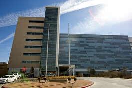 Exterior view of Midland Memorial Hospital, photographed Feb. 17, 2014.