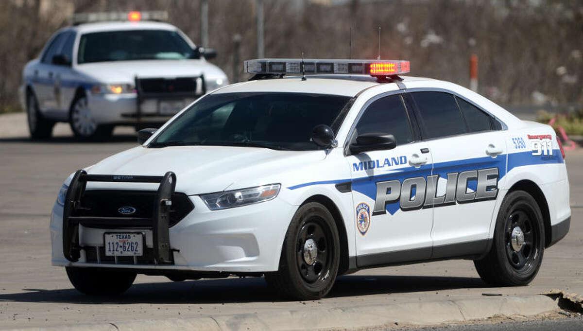 Midland Police Department patrol vehicle