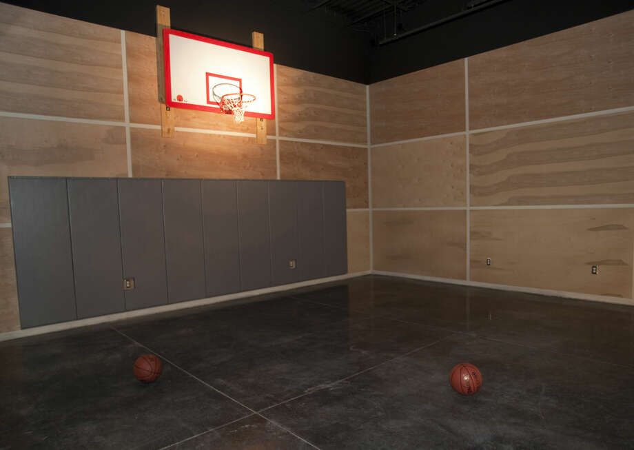 A half court basketball area is included in the new Children's Center at Mid-Cities Church. Tim Fischer\Reporter-Telegram Photo: Tim Fischer