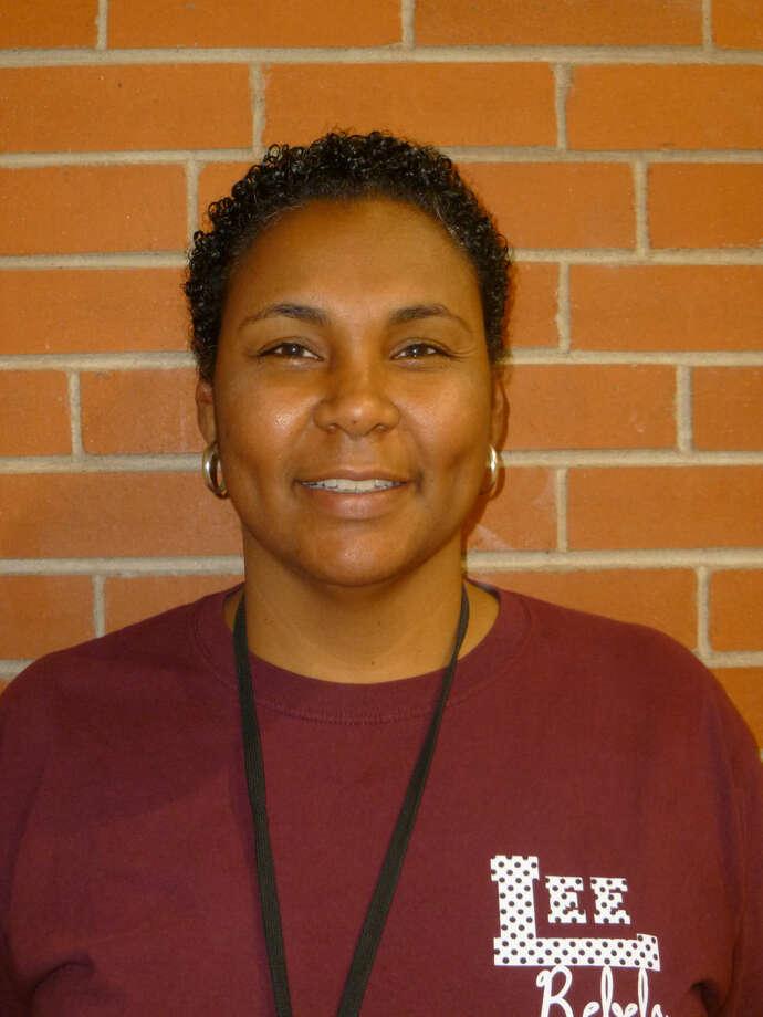 2014-15 Lee Girls Basketball Mugs - Coach Monica Ramirez