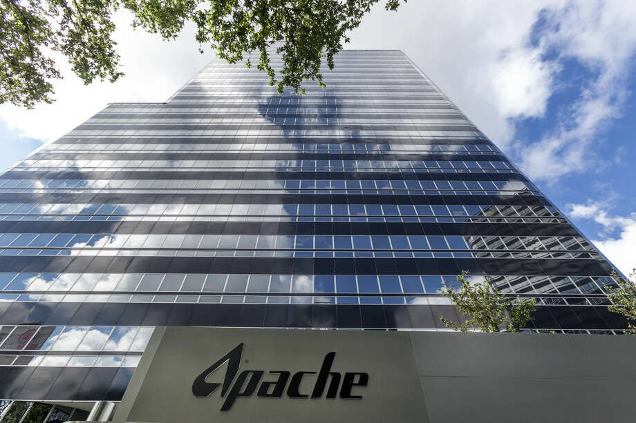 Portrait of Apache Executive VP and COO, North America, John Christmann. Also exterior shots of Apache Corporation, 2000 Post Oak Blvd., Houston, Texas. Thursday June 5, 2014 (Craig H. Hartley/For the Chronicle) Photo: Craig Hartley