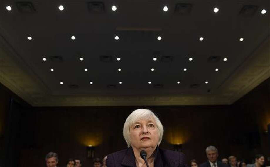 FILE - Ending its latest policy meeting on Wednesday, June 15, the Federal Reserve issues a statement, updates its forecasts and holds a news conference with Yellen. (AP Photo/Matt Rourke, File) (AP Photo/Susan Walsh, File)