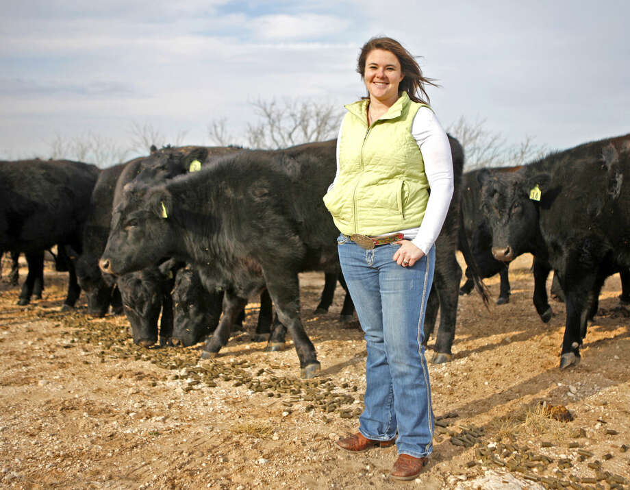 Courtni Munson, Midland County 4H agent, in portrait Thursday, Jan. 8, 2015. James Durbin/Reporter-Telegram Photo: James Durbin