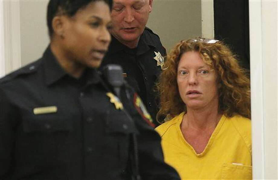 "Tonya Couch appears in court in Fort Worth, Texas, Friday, Jan. 8, 2016. The mother of Ethan Couch, who used an ""affluenza"" defense after killing people in a drunken-driving wreck appeared in court on a charge of hindering the apprehension of a felon. (Rodger Mallison/Star-Telegram via AP, Pool) Photo: Rodger Mallison"