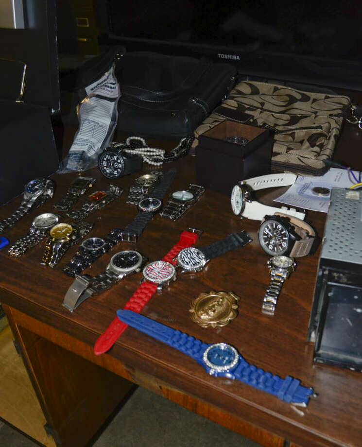 Items recovered from burglaries and thefts are available for the public to reclaim Thursday. Tim Fischer\Reporter-Telegram Photo: Tim Fischer