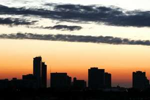 Midland's skyline is pictured in this Feb. 17, 2014, file photo.