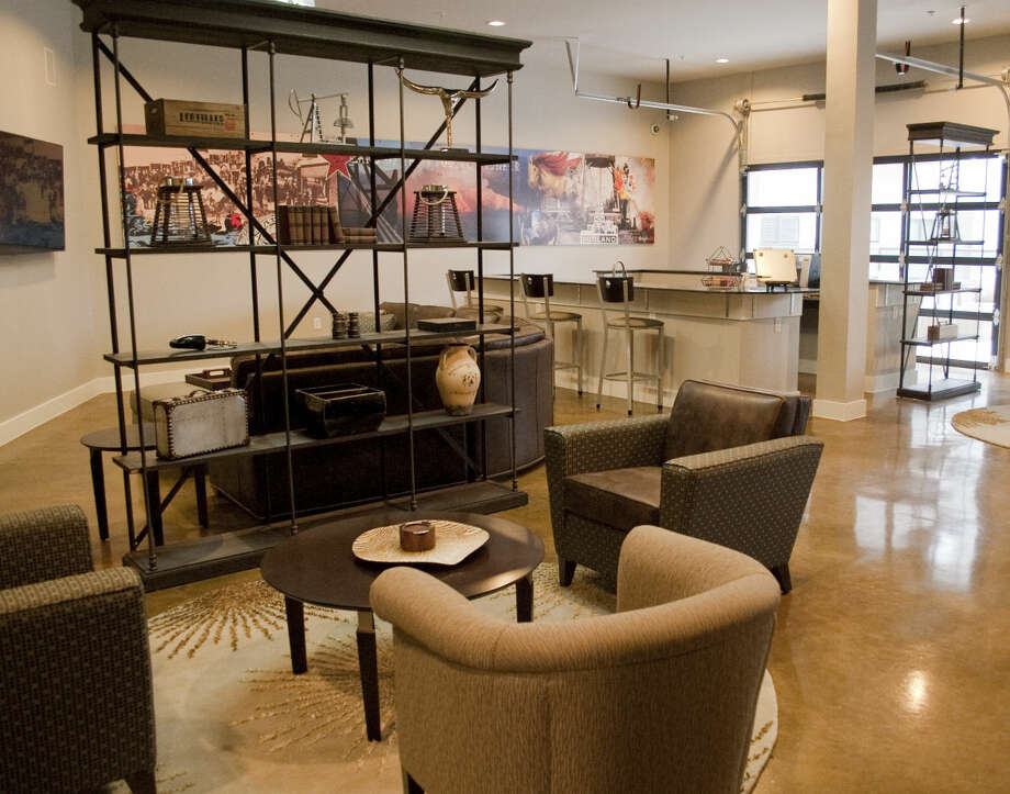 Wall Street Lofts main gathering and lounge room 1-13-15. Tim Fischer\Reporter-Telegram Photo: Tim Fischer