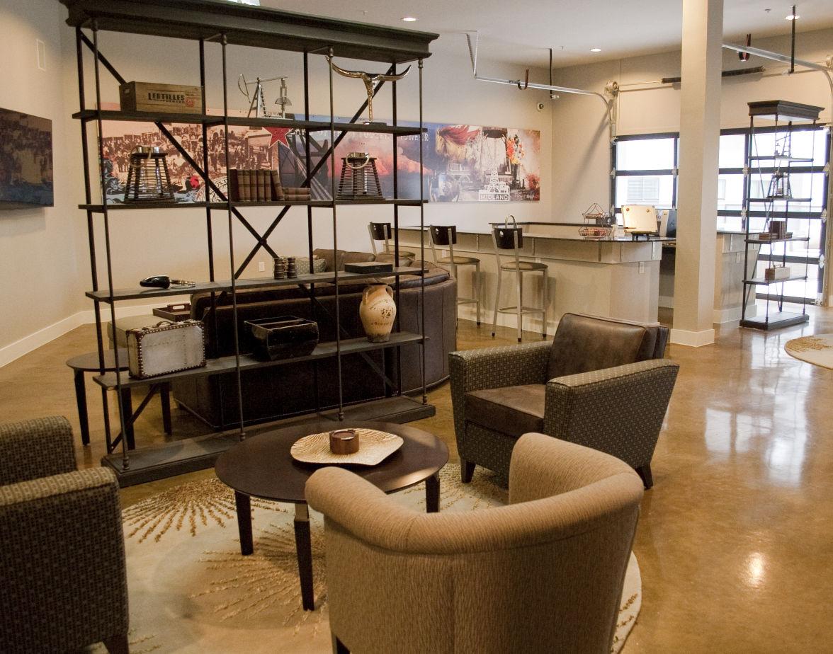 Tour reveals luxury of new Wall Street Lofts