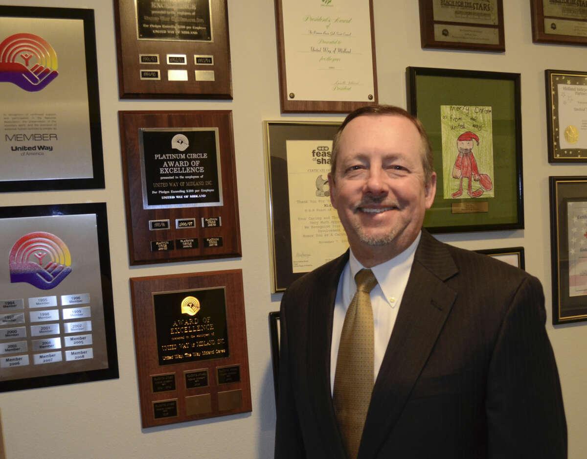 1-28-15 Mark Alexander, new executive director for United Way of Midland. Tim Fischer\Reporter-Telegram