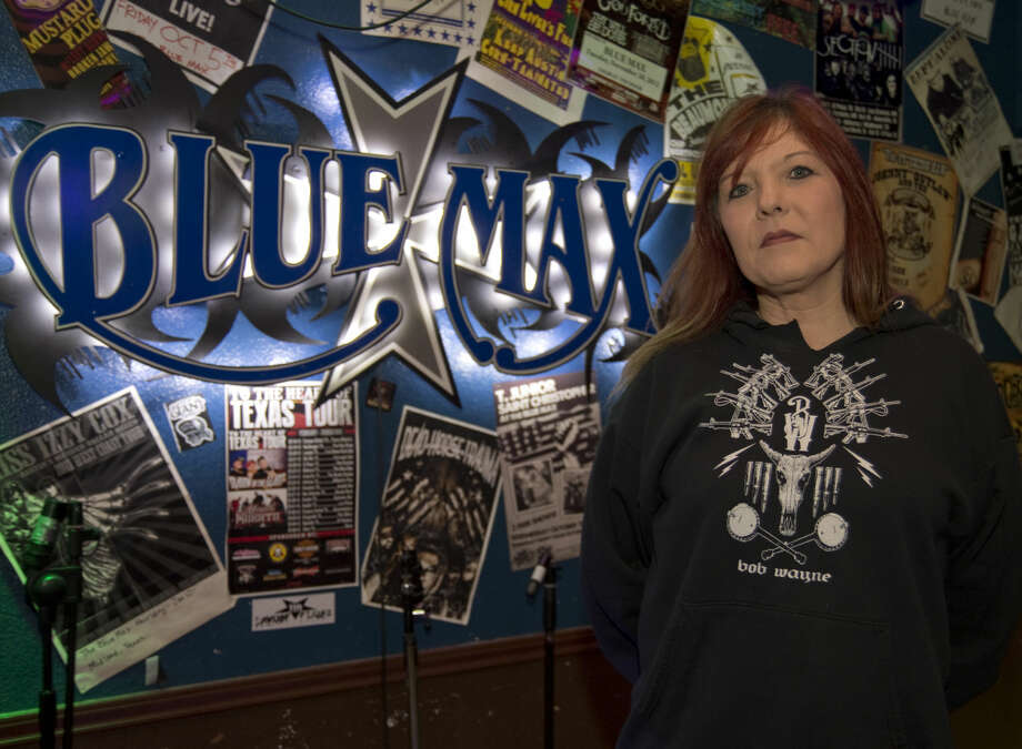 Erika Berry, owner of the Blue Max, will soon be closing the bar. Tim Fischer\Reporter-Telegram Photo: Tim Fischer