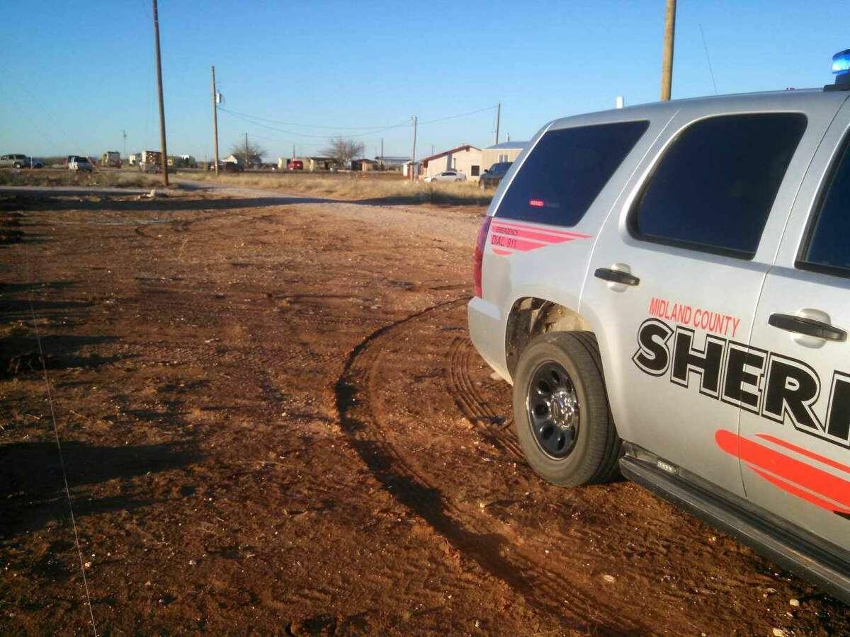 Sheriff deputy vehicle