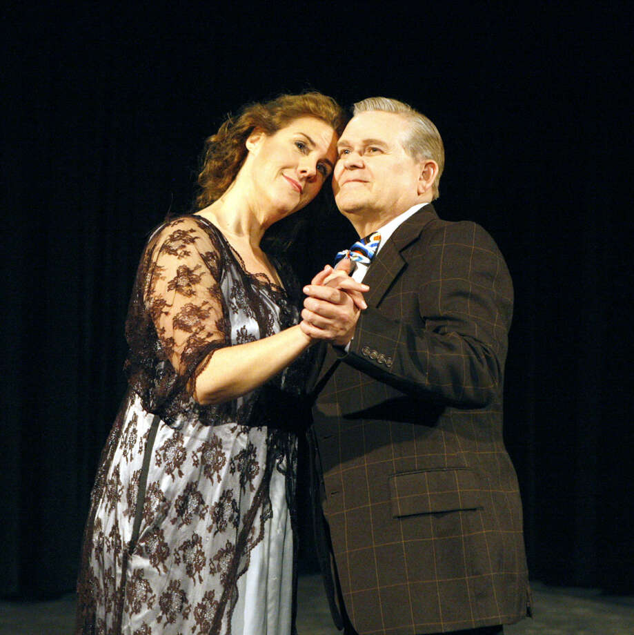 Lisa Jebsen stars as Fraulein Schneider with John Briggs as Herr Schultz in MRRRP's 'Cabaret.' Photo: James Durbin