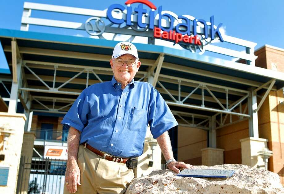 Ken Marks, chaplain for the Midland RockHounds, will be honored by the Masons in September 2012. Photo: JAMES DURBIN