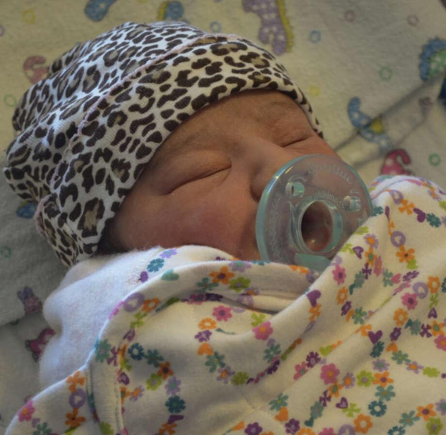 The last baby born in Midland in 2013 is Analayah Esquivel, born at 5:40 Tuesday evening. Tim Fischer\Reporter-Telegram Photo: Tim Fischer