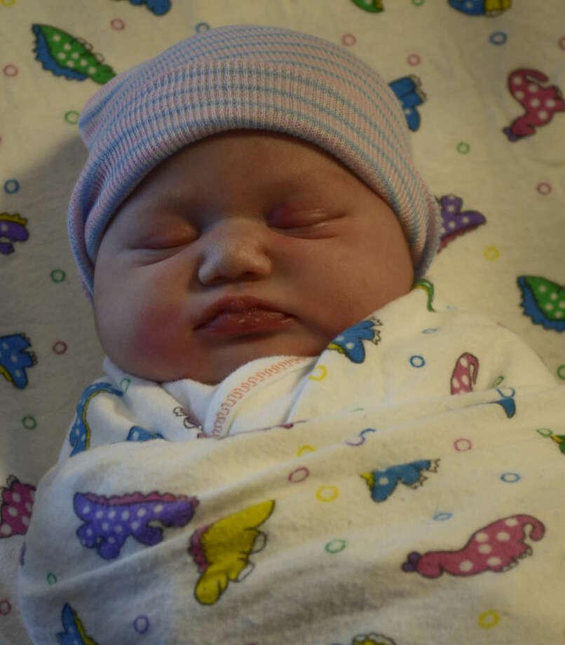 The first Midland baby girl of the New Year is Adalyn Mat Roys-Martinez. Tim Fischer\Reporter-Telegram Photo: Tim Fischer