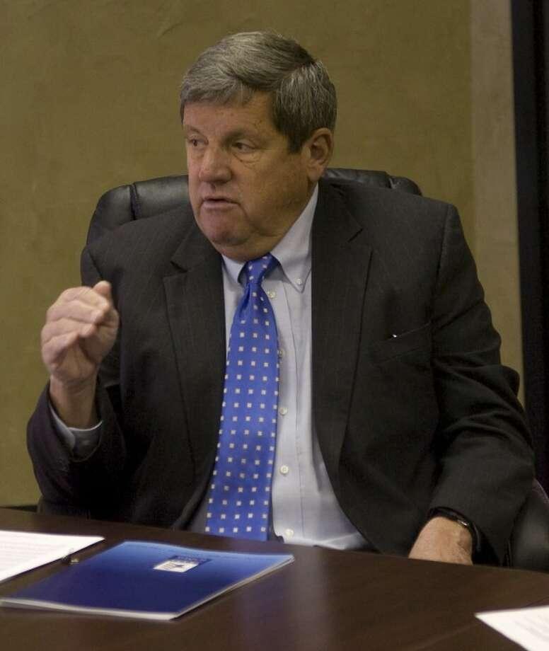 Bill Hammond, president/CEO of Texas Association of Business, speaks Monday at the Midland Chamber. Photo by Tim Fischer/Midland Reporter-Telegram Photo: Tim Fischer