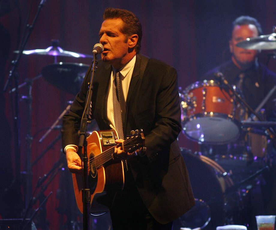 FILE - In this March 20, 2010 file photo, Glenn Frey of the Eagles performs at Muhammad Ali's Celebrity Fight Night XVI in Phoenix, Arizona. The Eagles said band founder Frey died Monday, Jan. 18, 2016, in New York after battling multiple ailments. He was 67. Photo: Ralph Freso / AP Photo