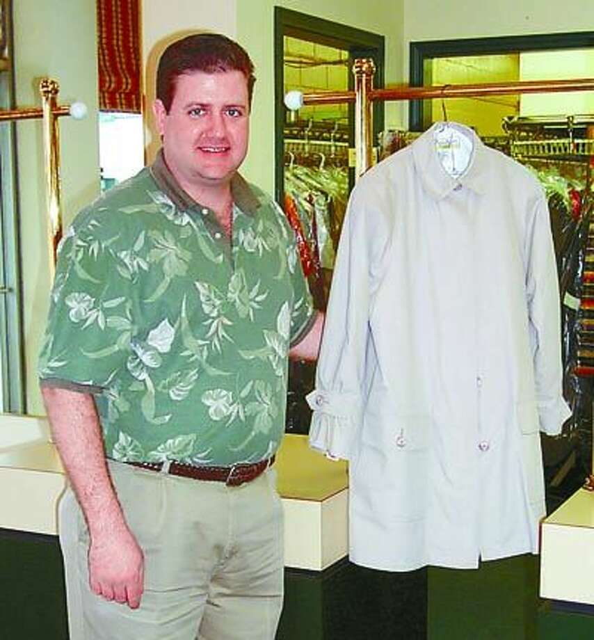 Fashion Cleaners' Philip McCain and his staff take special care of your special winterwear fabrics.