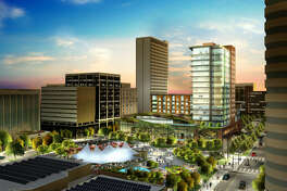 You can improve and make Midland beautiful. It is expected in three years you can buy the Hotel Santa Rita development. The development is estimated to cost $100 million upon completion