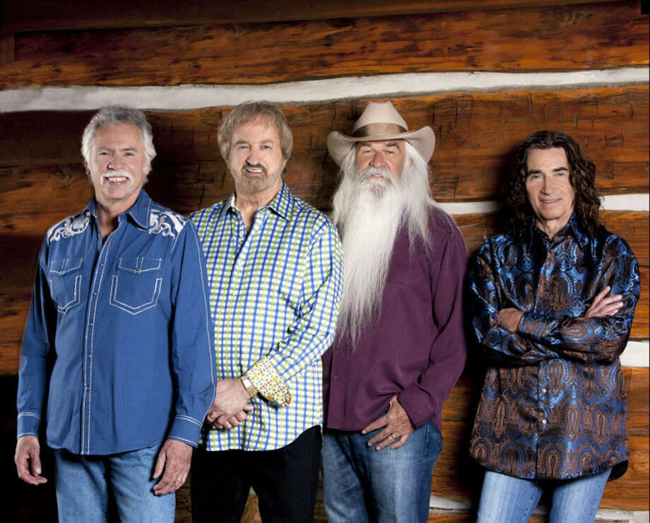 The Oak Ridge Boys were inducted into the Country Music Hall of Fame in October. Richard Sterban, far right, called it 'beyond words.' Photo: Courtesy Photo
