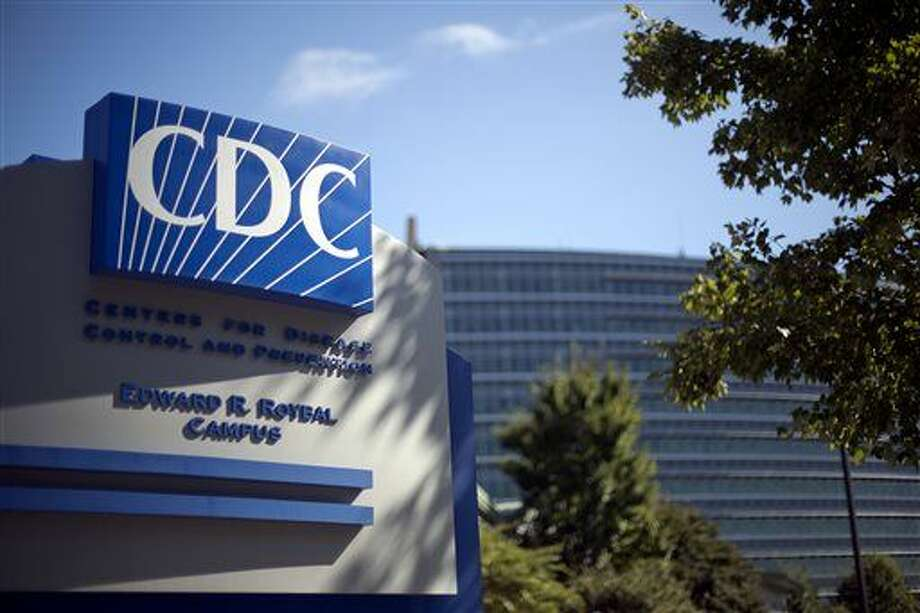 FILE - In this Oct. 8, 2013, file photo, a sign marks the entrance to the federal Centers for Disease Control and Prevention in Atlanta. (AP Photo/David Goldman, File) Photo: David Goldman