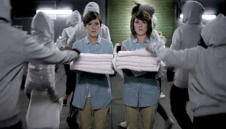 """The Canadian twin sisters Tegan and Sara drop some flirtatious odes over a strong, steady beat by producer Morgan Page. The gals will help you push through the burn as they sing """"Can I make all the moves I'm making tonight ... I feel my pulse working overtime."""" Aerobic workouts will fly by in 4 minutes.  Photo: Courtesy Of TeganandSara.com"""