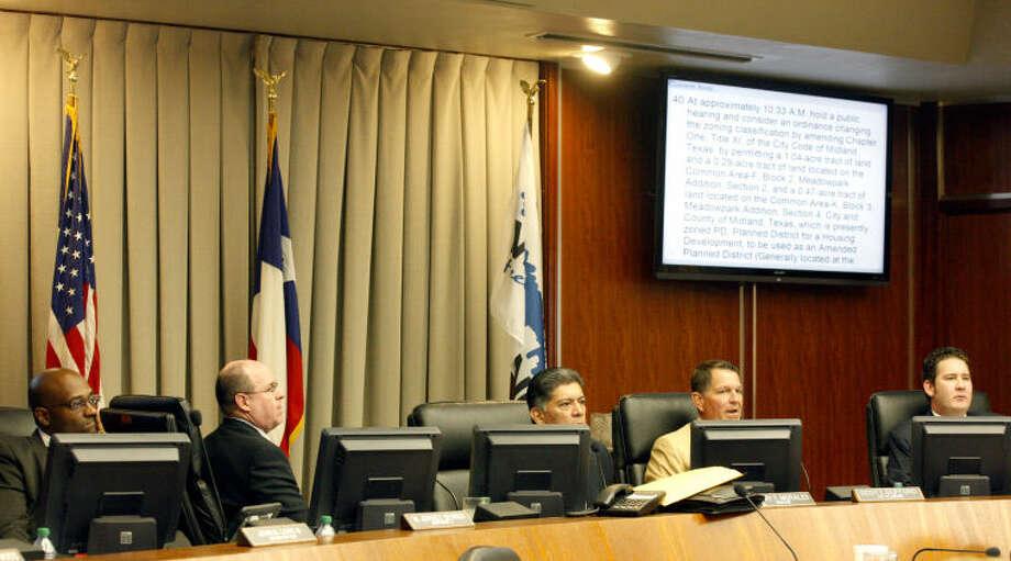 Midland City Council meeting July 8 2014. James Durbin/Reporter-Telegram Photo: James Durbin