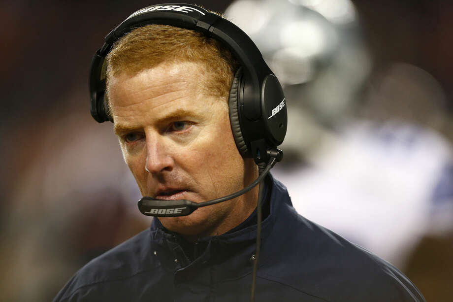 Dallas Cowboys head coach Jason Garrett late in the second quarter against the Chicago Bears at Soldier Field in Chicago on Thursday, Dec. 4, 2014. (Ron Jenkins/Fort Worth Star-Telegram/TNS) Photo: Ron Jenkins
