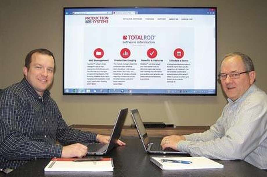 As the total well information package, TotalRod saves time and money by making all your well and production data available to anyone who needs it, wherever they are. The Permian Basin-based TotalRod team, which includes founder Brad Goldsmith, right, and Brady Cook, are ready to put it to work for you.