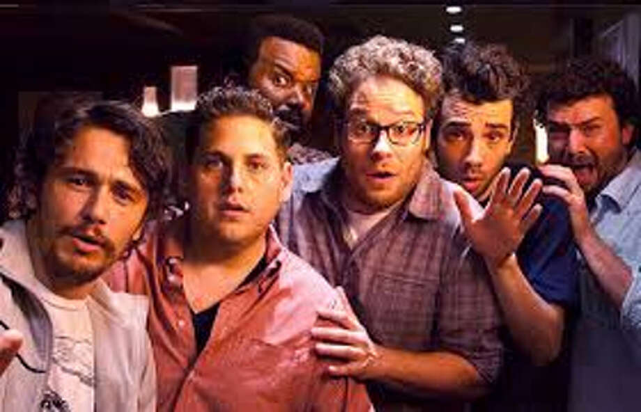 "Easily the funniest film of the year, ""This Is the End"" has James Franco, Jonah Hill, Seth Rogen and Co. battling hunger, demons and Emma Watson during a fiery apocalypse. The popular celebrities are high on marijuana throughout most of this parody of celebrity high-life, and laughs are guaranteed to be just as high as the cast."