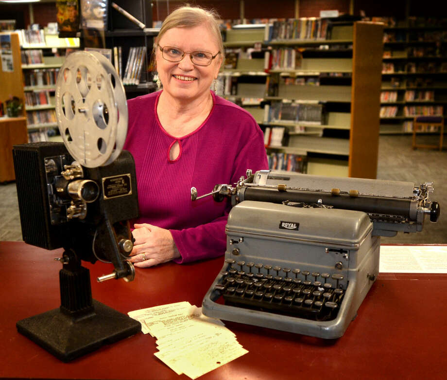 Barbara Edson, a supervisor of media at Midland County Public Library downtown branch, is retiring after 40 years on the job. James Durbin/Reporter-Telegram Photo: James Durbin