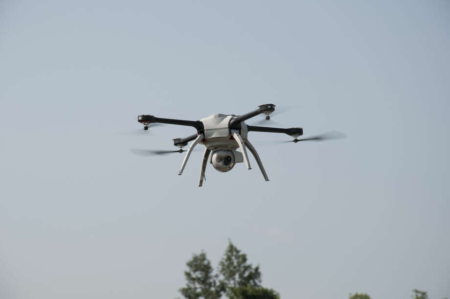 The Montgomery County Sheriff's Office hopes to soon be conducting operations from the air again with a new drone to replace one that crashed last year during a training exercise. Photo: Aeryon Labs Inc.