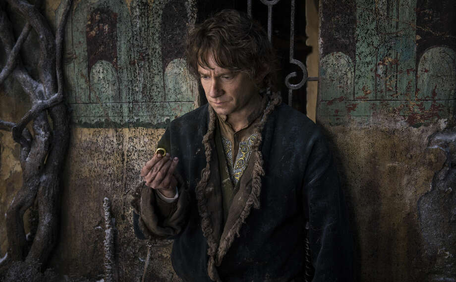 "Martin Freeman as Bilbo in the fantasy adventure ""The Hobbit: The Battle of the Five Armies,"" a production of New Line Cinema and Metro-Goldwyn-Mayer Pictures (MGM), relased by Warner Bros. Pictures and MGM. (Mark Pokorny/MGM & Warner Bros.) Photo: Mark Pokorny"