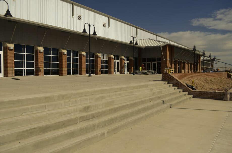 The Horseshoe Pavilion. Tim Fischer\Reporter-Telegram Photo: Tim Fischer